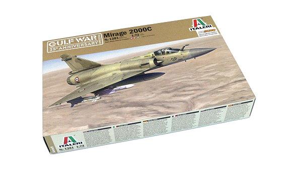 ITALERI Aircraft Model 1/72 Mirage 2000C Scale Hobby 1381 T1381