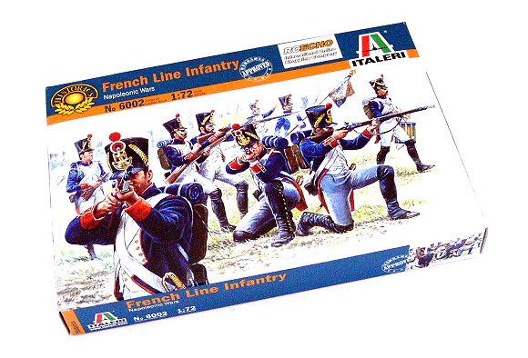 ITALERI Historics 1/72 Napoleonic Wars French Line Infantry Hobby 6002 T6002