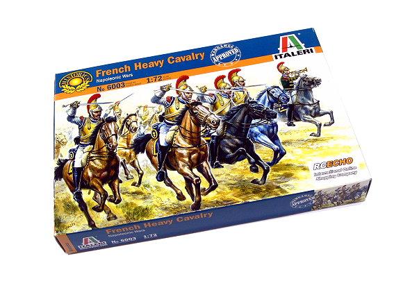 ITALERI Historics 1/72 Napoleonic Wars French Heavy Cavalry Hobby 6003 T6003