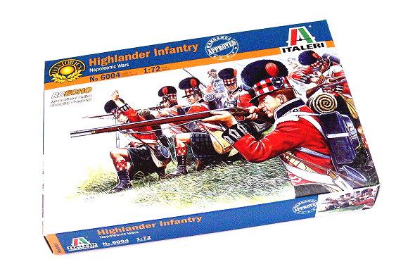 ITALERI Historics 1/72 Napoleonic Wars Highlander Infantry Hobby 6004 T6004