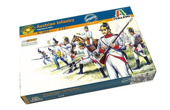 ITALERI Historics 1/72 Napoleonic Wars Austrian Infantry Scale Hobby 6005 T6005