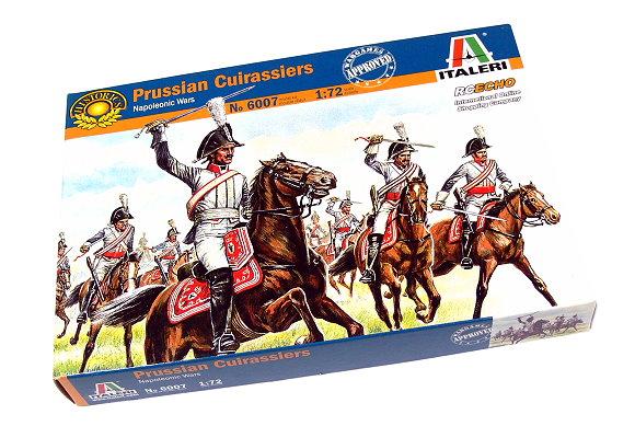 ITALERI Historics 1/72 Napoleonic Wars Prussian Cuirassiers Hobby 6007 T6007