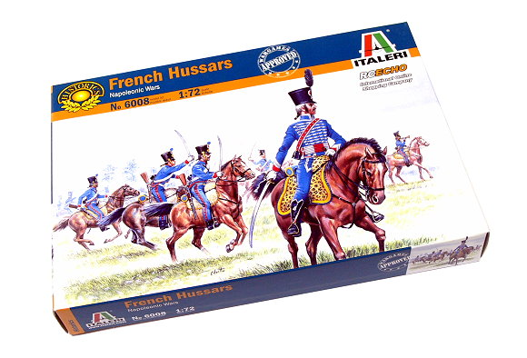 ITALERI Historics 1/72 Napoleonic Wars French Hussars Scale Hobby 6008 T6008