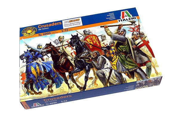 ITALERI Historics 1/72 Xlth Century Crusaders Scale Hobby 6009 T6009