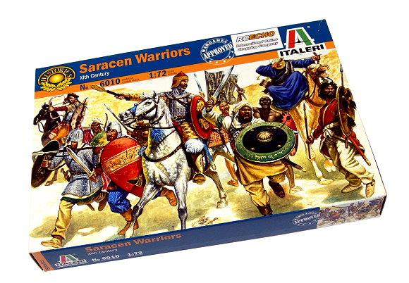 ITALERI Historics 1/72 Xlth Century Saracen Warriors Scale Hobby 6010 T6010