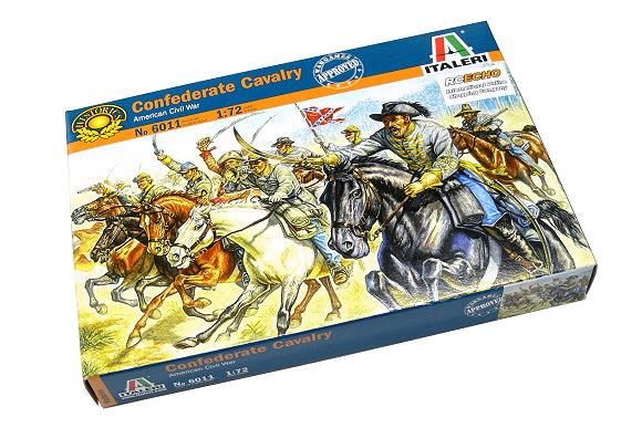 ITALERI Historics 1/72 American Civil War Confederate Cavalry Hobby 6011 T6011