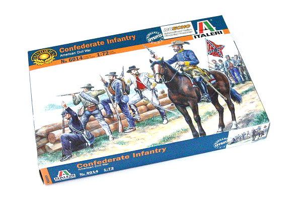 ITALERI Historics 1/72 American Civil War Confederate Infantry Hobby 6014 T6014