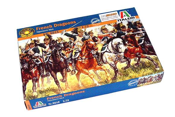 ITALERI Historics 1/72 Napoleonic Wars French Dragoons Scale Hobby 6015 T6015