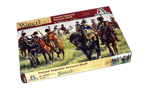 ITALERI Waterloo 1/72 French Imperial General Staff Scale Hobby 6016 T6016