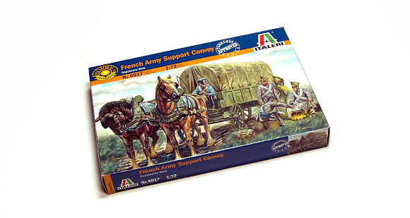 ITALERI Historics 1/72 Napoleonic Wars French Army Support Comvoy 6017 T6017