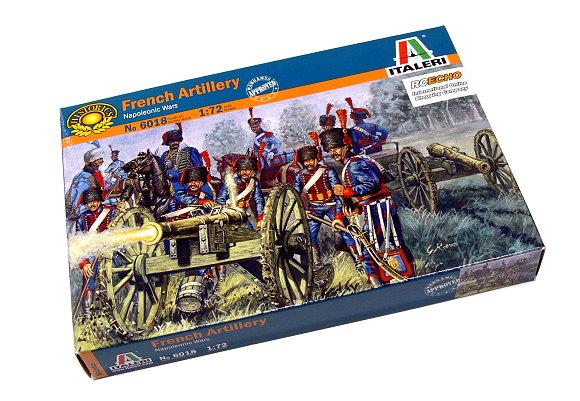 ITALERI Historics 1/72 Napoleonic Wars French Artillery Hobby 6018 T6018