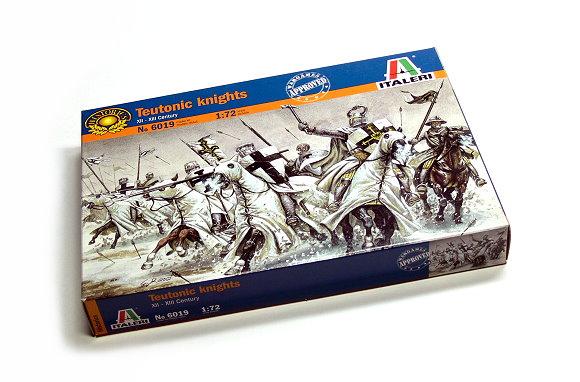 ITALERI Historics 1/72 XII-XIII Century Teutonic knights Hobby 6019 T6019