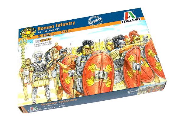 ITALERI Historics 1/72 1st-2nd Century B.C. Roman Infantry Hobby 6021 T6021