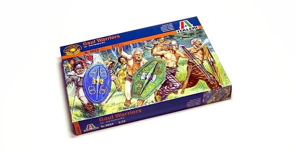 ITALERI Historics 1/72 1st-2nd Century B.C. Gaul Warriors Hobby 6022 T6022