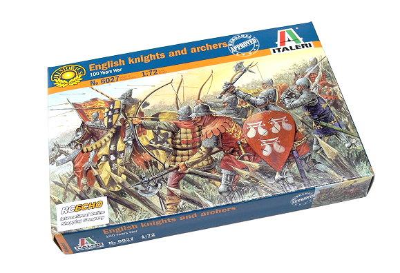 ITALERI Historics 1/72 100 Years War English knights and archers 6027 T6027