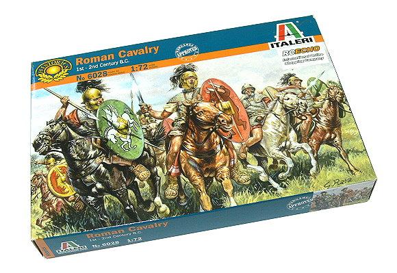 ITALERI Historics 1/72 1st-2nd Century B.C. Roman Cavalry Hobby 6028 T6028