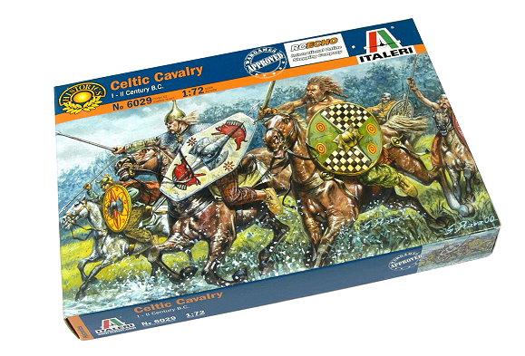 ITALERI Historics 1/72 I-II Century B.C. Celtic Cavalry Scale Hobby 6029 T6029