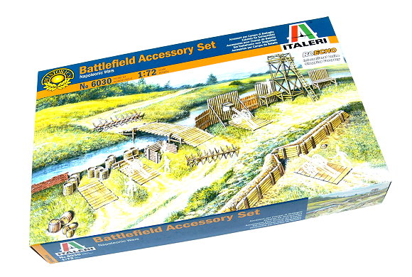 ITALERI Historics 1/72 Napoleonic Wars Battlefield Accessory Set 6030 T6030