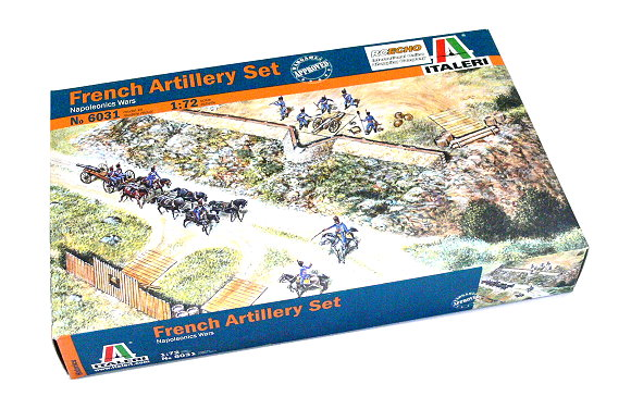 ITALERI Historics 1/72 Napoleonic Wars French Artillery Set Hobby 6031 T6031