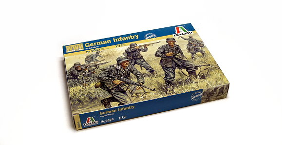 ITALERI Military Model 1/72 World War II German Infantry Scale Hobby 6033 T6033