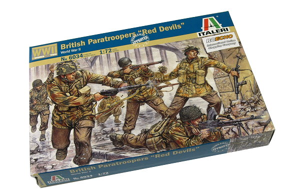 ITALERI Military Model 1/72 World War II British Paratroopers Hobby 6034 T6034