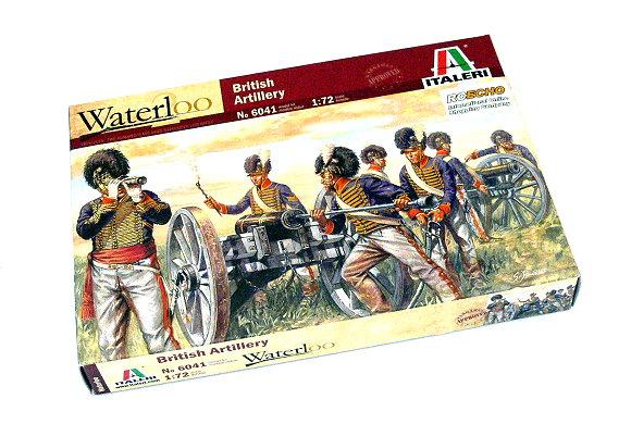 ITALERI Waterloo 1/72 British Artillery Scale Hobby 6041 T6041