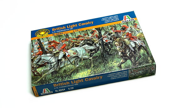 ITALERI Historics 1/72 U.S. Independence War British Light Cavalry 6044 T6044