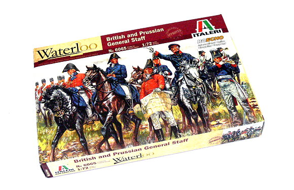 ITALERI Waterloo 1/72 British and Prussian General Staff Scale Hobby 6065 T6065