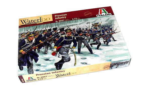 ITALERI Waterloo 1/72 Napoleonic Wars Prussian Infantry Scale Hobby 6067 T6067