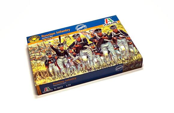 ITALERI Historics 1/72 Napoleonic Wars Russian Infantry Scale Hobby 6073 T6073
