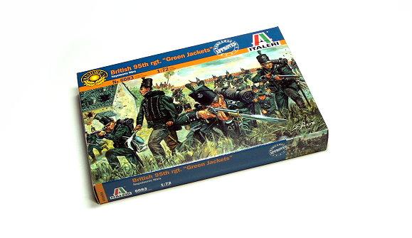 ITALERI Historics 1/72 Napoleonic Wars British 95th rgt