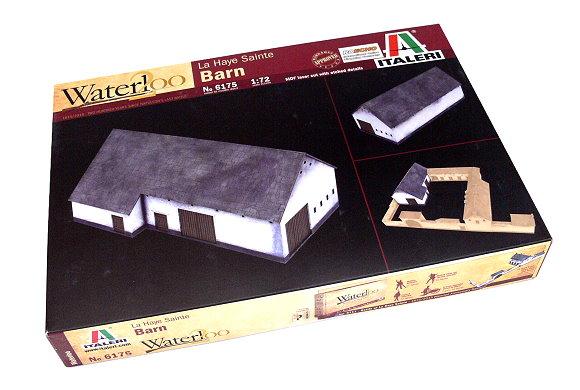 ITALERI Military Model 1/72 Waterloo La Haye Sainte Barn Scale Hobby 6175 T6175