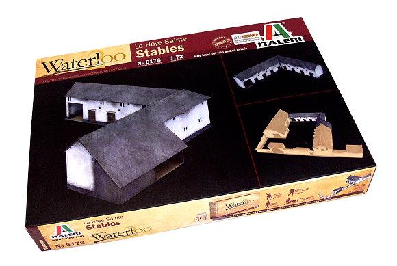 ITALERI Military Model 1/72 Waterloo La Haye Sainte Stables Hobby 6176 T6176