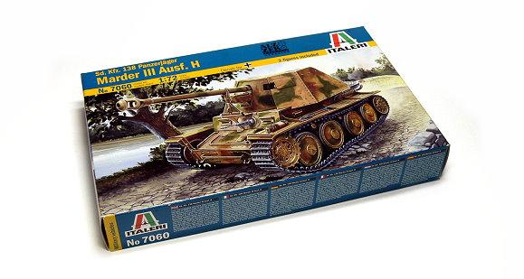 ITALERI Military Model 1/72 Sd Kfz 138 Panzerjager Marder III Ausf H 7060 T7060