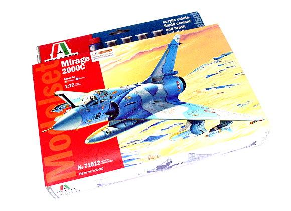 ITALERI Aircraft Model 1/72 Mirage 2000C Modelset Scale Hobby 71012 T7112