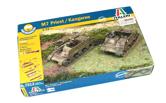 ITALERI Military Model 1/72 M7 Priest / Kangaroo Scale Hobby 7513 T7513