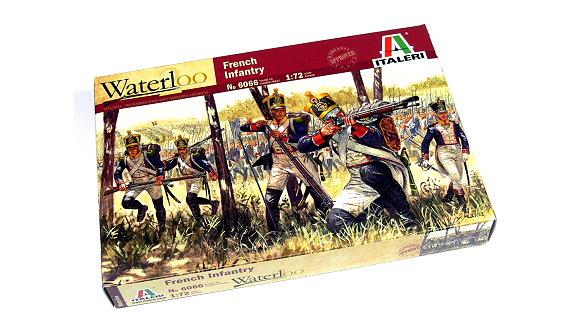 ITALERI Waterloo 1/72 Napoleonic Wars French Infantry Scale Hobby 6066 TA005