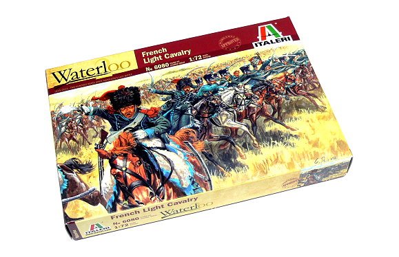ITALERI Waterloo 1/72 Napoleonic Wars French Light Cavalry Hobby 6080 TA010