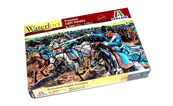 ITALERI Waterloo 1/72 Napoleonic Wars Prussian Light Cavalry Hobby 6081 TA011