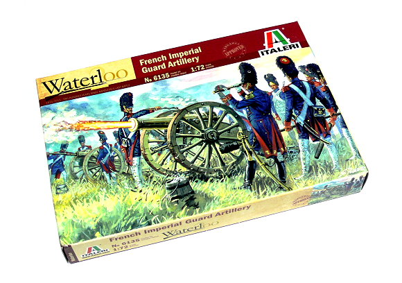 ITALERI Waterloo 1/72 Napoleonic War French Imperial Guard Artillery 6135 TA020