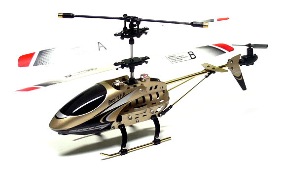 JXD Model 339 3.5ch Golden Gyro LED R/C Hobby Mini Electric Helicopter RTF EH435