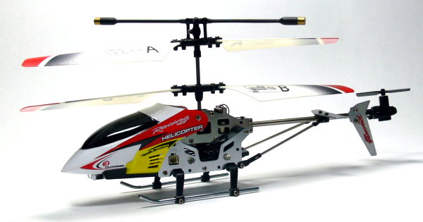 JXD RC Model 3ch Red Gyro LED R/C Hobby Mini Electric Helicopter RTF EH485