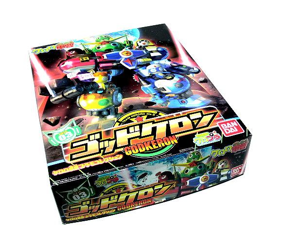 Bandai Hobby Japan Keroro DX03 Godkeron Team Keroro Mk-II Model 0153263 KM414
