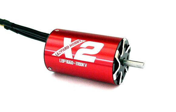 LEOPARD RC Model X2 3660 3180KV 4 Poles R/C Hobby Inrunner Brushless Motor IM963
