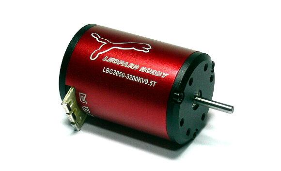 LEOPARD RC Model 3650 9.5T KV3200 2 Poles R/C Hobby Brushless Motor IM026