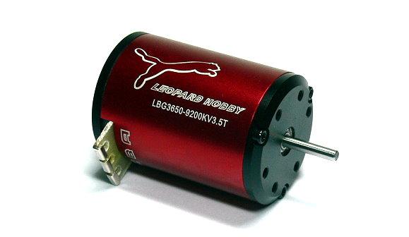 LEOPARD RC Model 3650 3.5T KV9200 2 Poles R/C Hobby Brushless Motor IM038