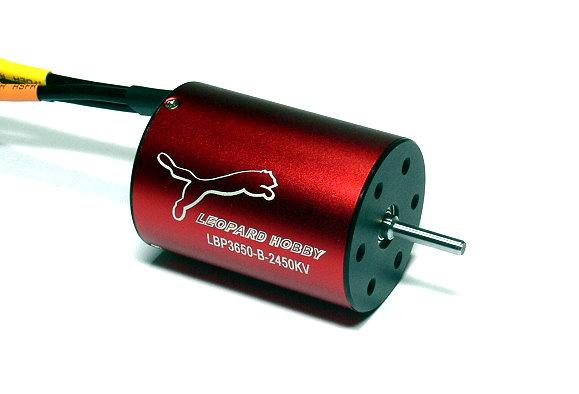 LEOPARD RC Model 3650 KV2450 4 Poles R/C Hobby Inrunner Brushless Motor IM086