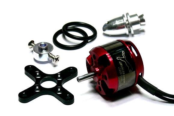 LEOPARD Model 2826 KV1250 RC Outrunner Brushless Motor & Propeller Adaptor OM066