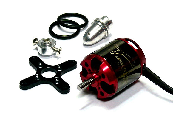LEOPARD Model 2835 KV850 RC Outrunner Brushless Motor & Propeller Adaptor OM078