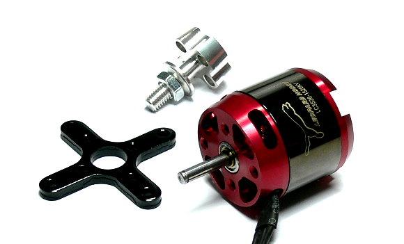 LEOPARD Model 3536 KV1520 RC Outrunner Brushless Motor & Propeller Adaptor OM086